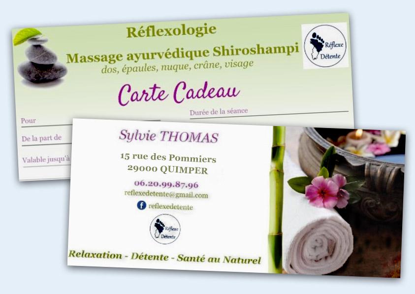 Sylvie THOMAS : Réflexe Détente / réflexologie / massage ayurvédique / Shiroshampi /Plogastel St Germain / Quimper / Pont L'Abbé / Douarnenez